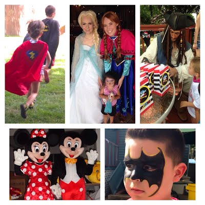 birthday party places nj characters princess spa parties nj princess